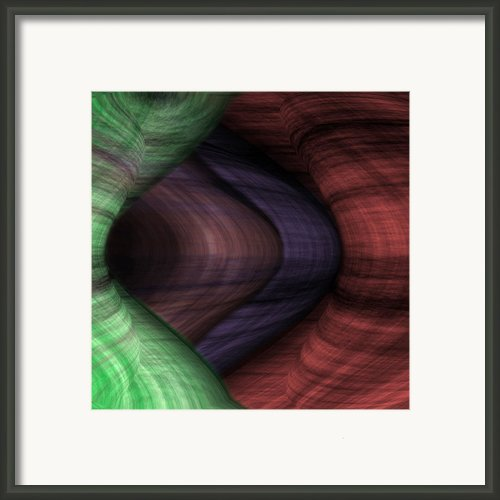 Caverns Of Wonder Framed Print By Christopher Gaston