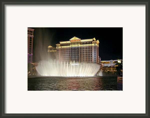Ceasars Palace Framed Print By Charles Warren