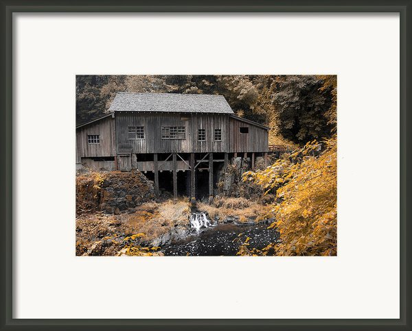 Cedar Creek Grist Mill Framed Print By Steve Mckinzie