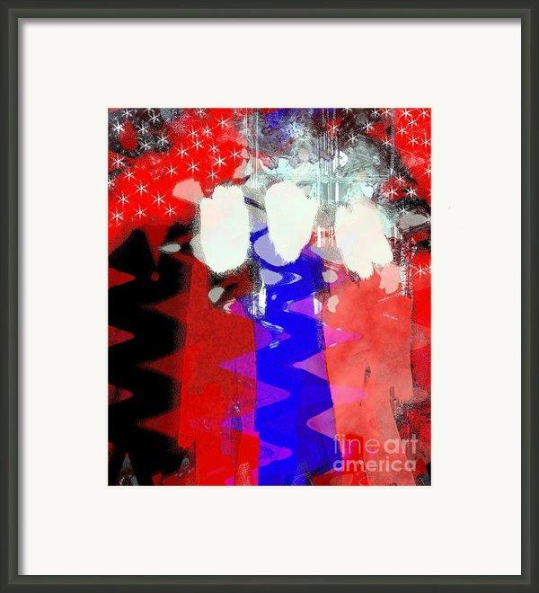 Celebration 3 Framed Print By Mimo Krouzian