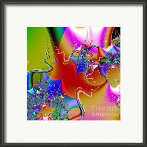 Celebration . Square . S16 Framed Print By Wingsdomain Art And Photography