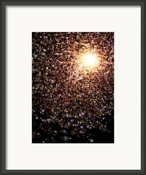 Celebrity Framed Print By Pet Serrano