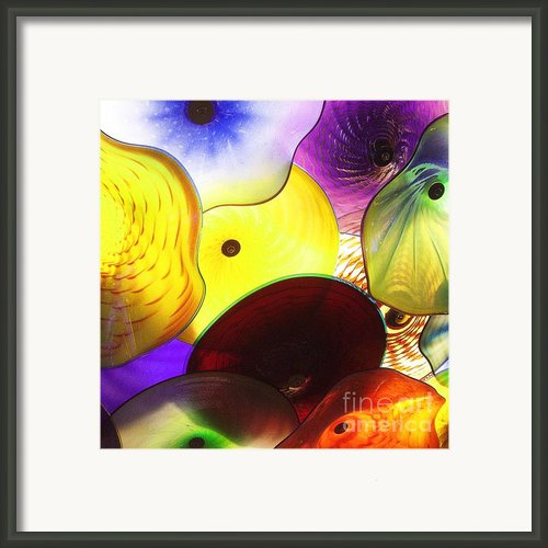 Celestial Glass 1 Framed Print By Xueling Zou