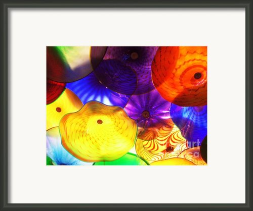 Celestial Glass 3 Framed Print By Xueling Zou