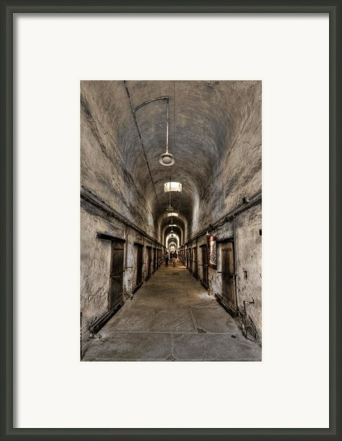 Cell Block  Framed Print By Evelina Kremsdorf