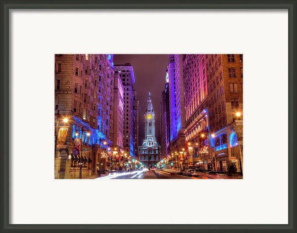Center City Philadelphia Framed Print By Eric Bowers Photo