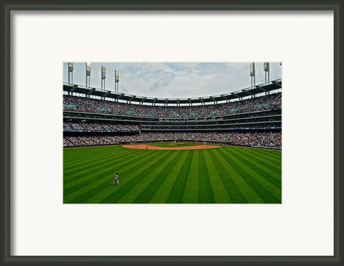Center Field Framed Print By Robert Harmon