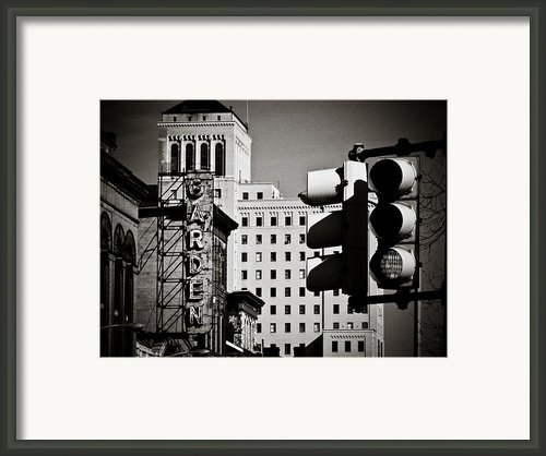 Central Northside Framed Print By Jessica Brawley