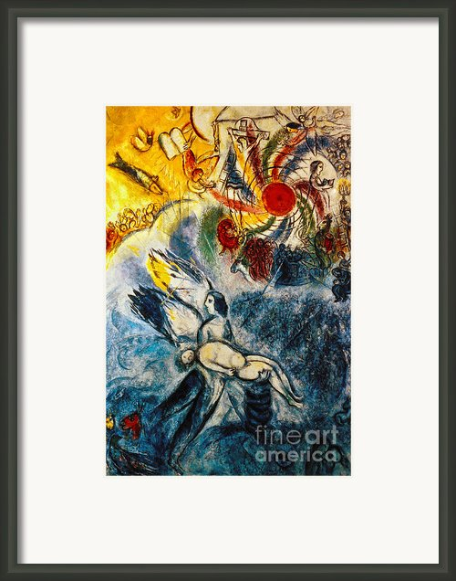 Chagall: Creation Framed Print By Granger