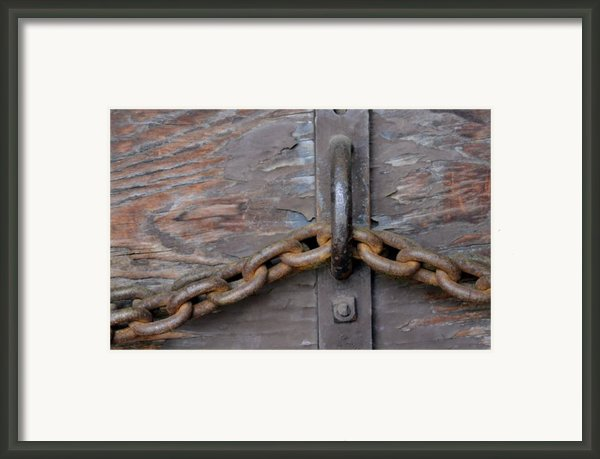 Chain And Grain Framed Print By Dan Holm