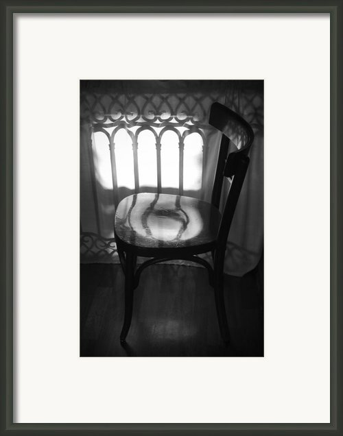 Chair Framed Print By Julia Bridget Hayes