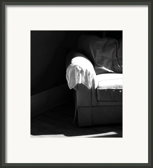 Chair Framed Print By Laurie Breton