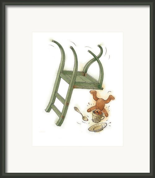 Chair Race02 Framed Print By Kestutis Kasparavicius