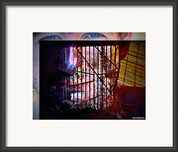 Challenge Enigmatic Imprison Himself Framed Print By Paulo Zerbato