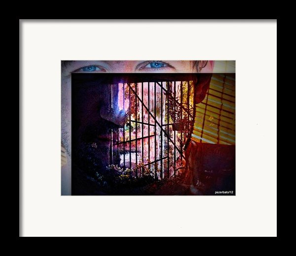 Challenge Enigmatic Imprison Himself Framed Print By Paulo Zerbato