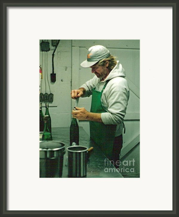 Champagne Methode Champenois Framed Print By Padre Art