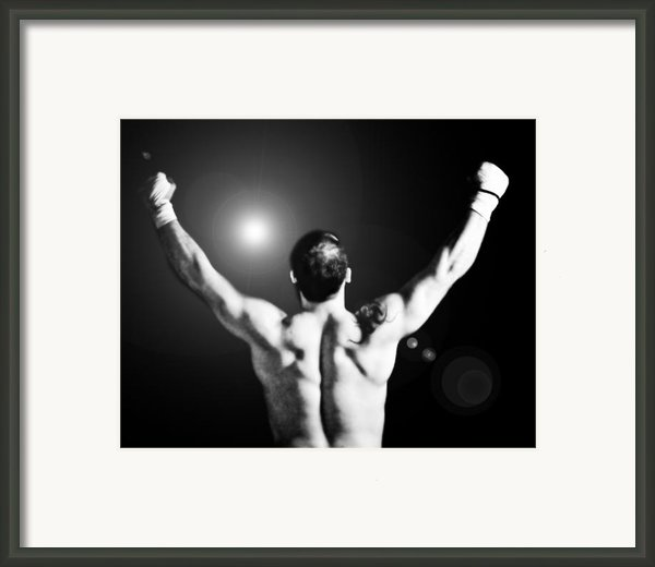 Champion Framed Print By Dean Farrell