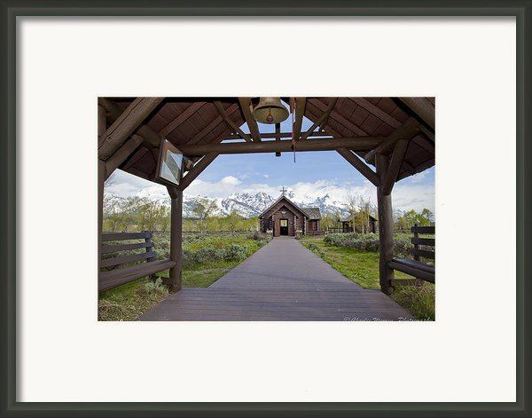 Chapel Of Transfiguration 1 Framed Print By Charles Warren