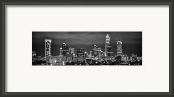 Charlotte Greyscale Framed Print By Brian Young