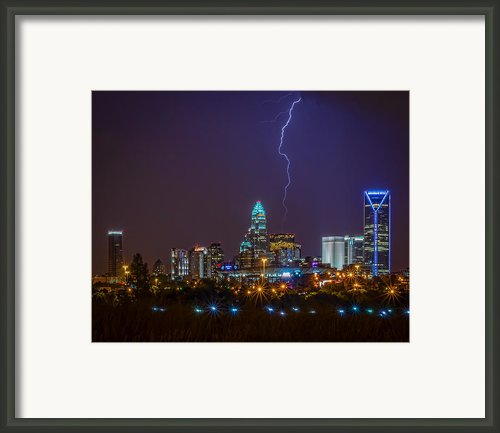 Charlotte Storm Framed Print By Brian Young