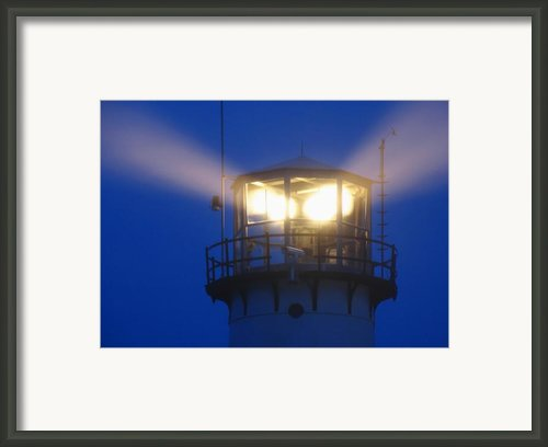 Chatham Light Framed Print By Juergen Roth