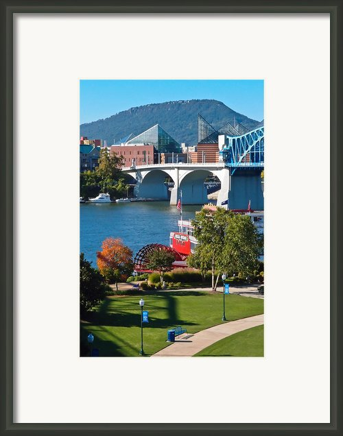 Chattanooga Landmarks Framed Print By Tom And Pat Cory