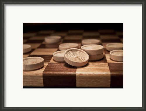 Checkers Ii Framed Print By Tom Mc Nemar