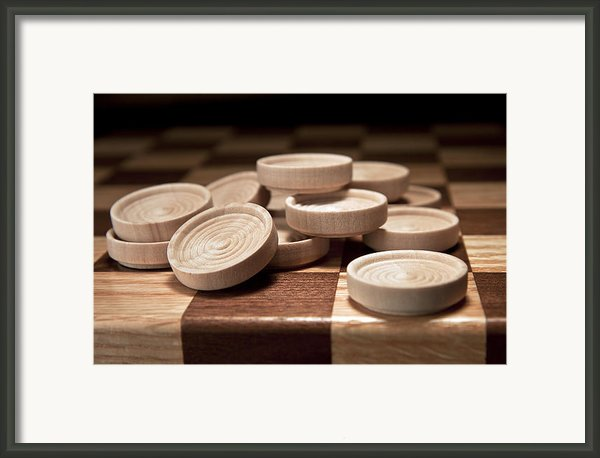 Checkers Iii Framed Print By Tom Mc Nemar