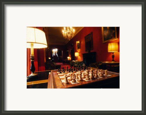Checkmate At Dromoland Framed Print By Carl Purcell
