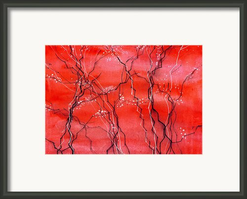 Cheery Blossom Framed Print By Anil Nene