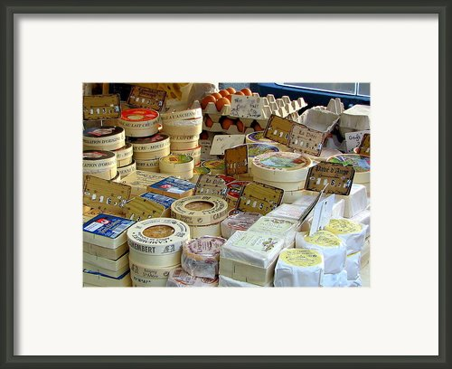 Cheese For Sale Framed Print By Carla Parris