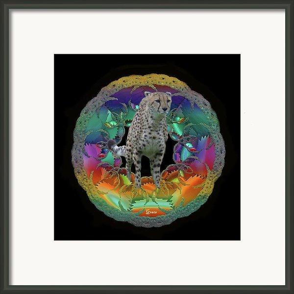 Cheetah Framed Print By Julie  Grace