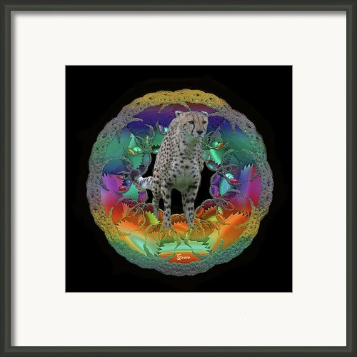 Cheetah Framed Print By Julie  Grace