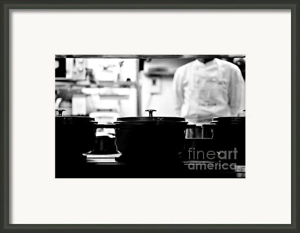 Chef Framed Print By Dean Harte