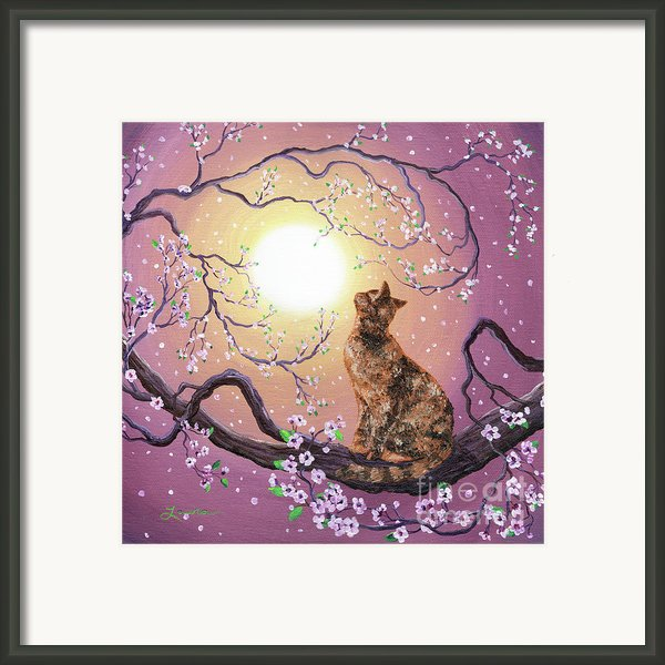 Cherry Blossom Waltz  Framed Print By Laura Iverson