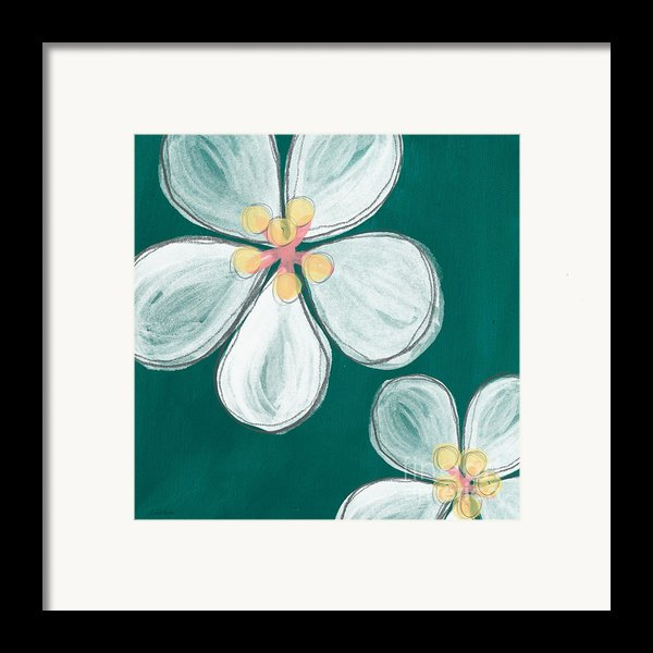 Cherry Blossoms Framed Print By Linda Woods