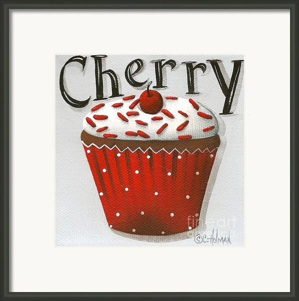 Cherry Celebration Framed Print By Catherine Holman
