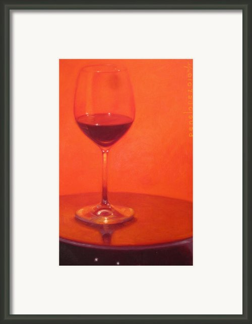 Cherry Spice Framed Print By Penelope Moore