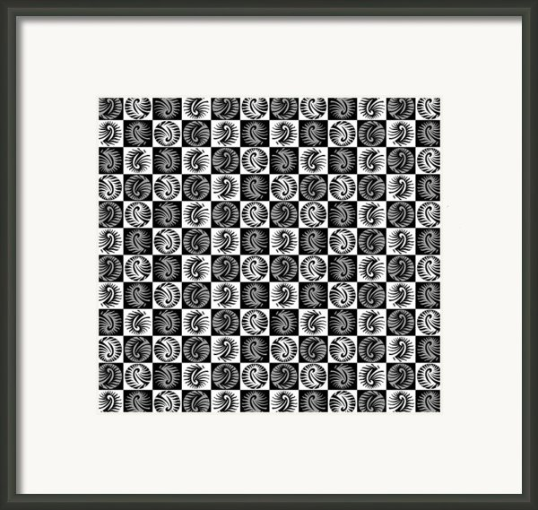 Chess Board Framed Print By Sumit Mehndiratta