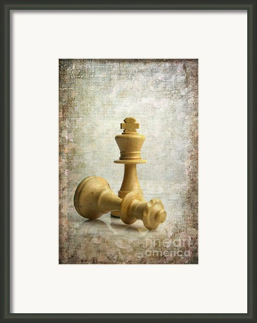 Chess Pieces Framed Print By Bernard Jaubert