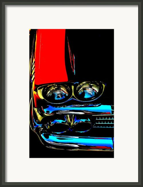 Chevy Framed Print By Gwyn Newcombe