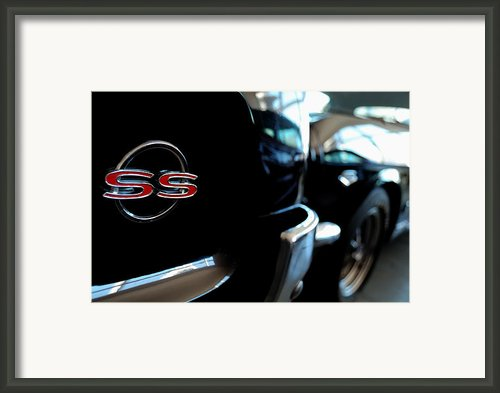 Chevy Ss - Leading The Pack Framed Print By Steven Milner