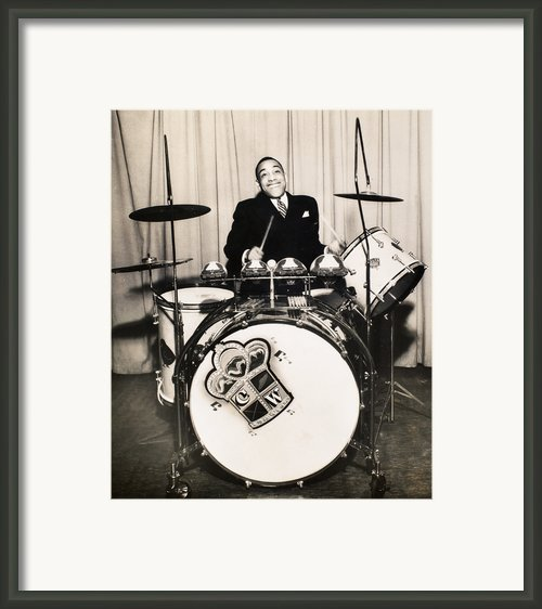 Chick Webb (1909-1939) Framed Print By Granger