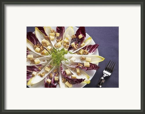 Chicory Salad Framed Print By Joana Kruse