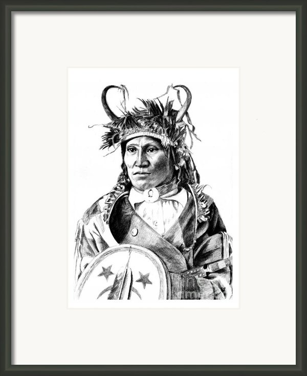 Chief Wets It Framed Print By Toon De Zwart