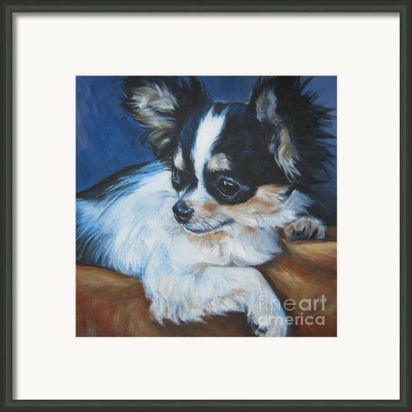 Chihuahua Framed Print By Lee Ann Shepard