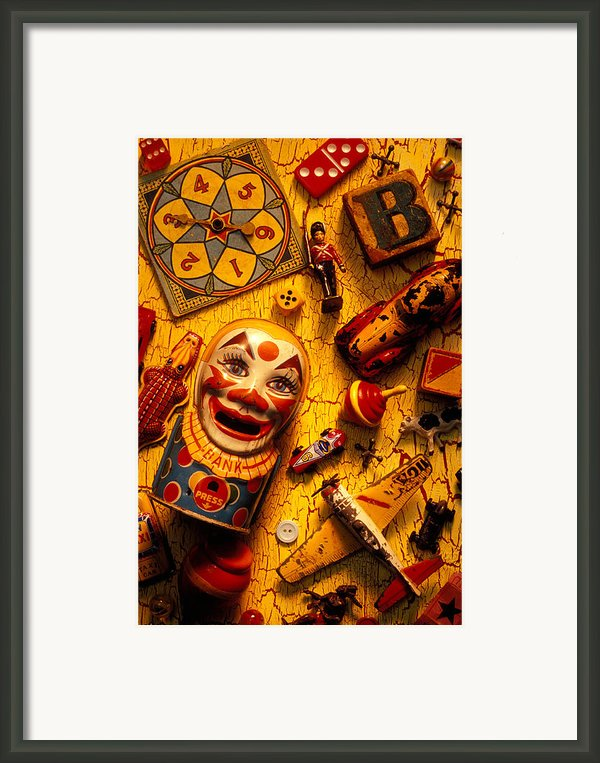 Childhood Toys Framed Print By Garry Gay