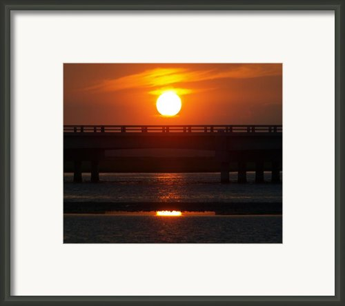 Chincoteague Island Bay Framed Print By Kim