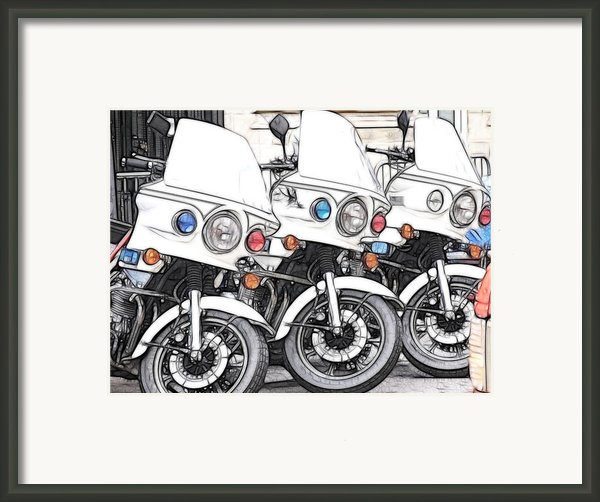 Chips With Everything Framed Print By Paul And Fe Photography Messenger