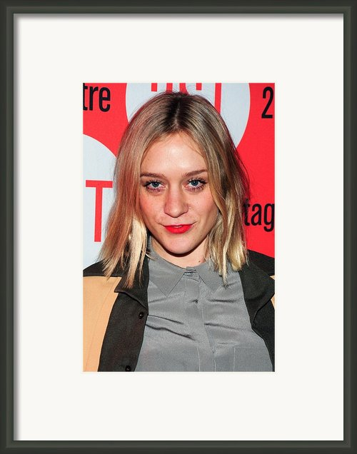 Chloe Sevigny In Attendance For Second Framed Print By Everett